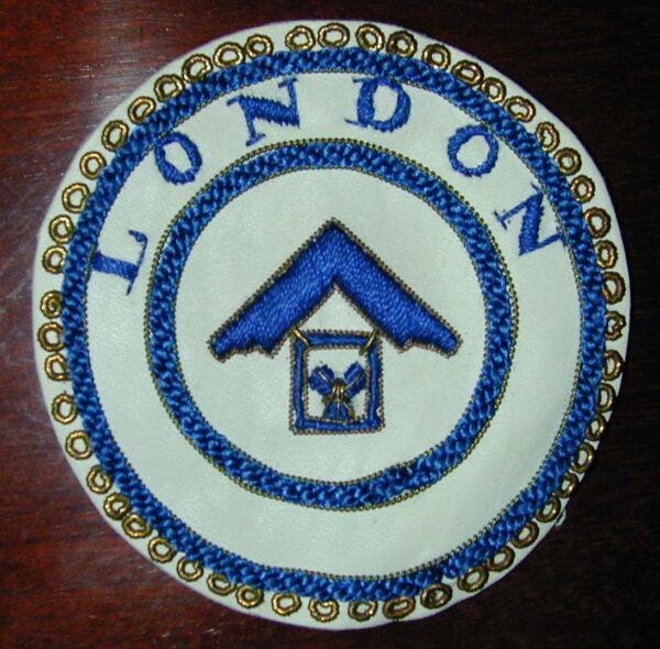 London Grand Rank Undress Apron Badge -0