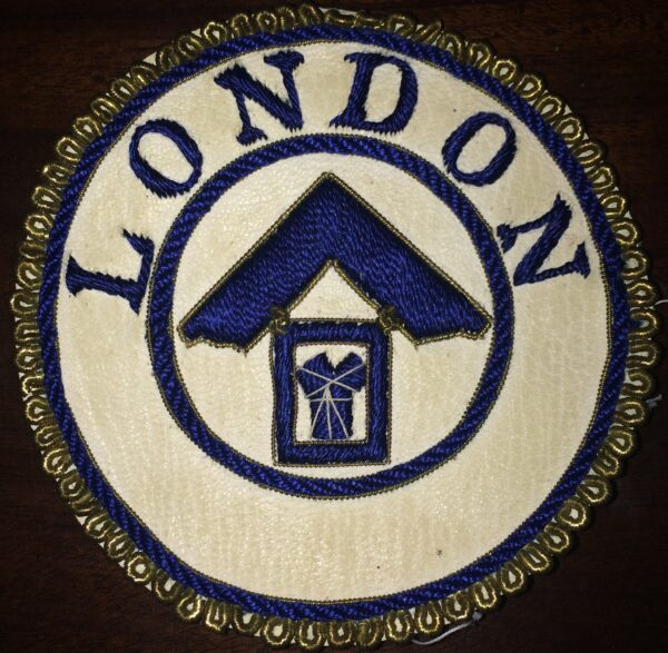 London Grand Rank Undress Apron Badge -0