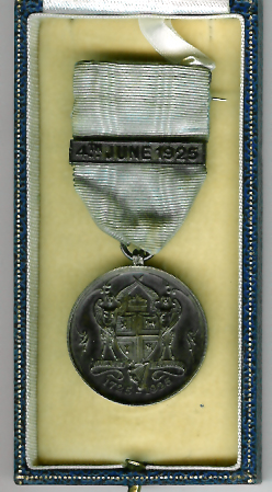 TH237Aa 1925 The bi-centenary of the Grand Lodge of Ireland. Silver-0