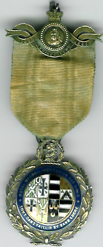TH271 Royal Masonic Institution for Girls 1887 Stewards Jewel.-0
