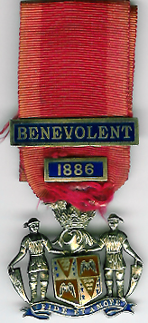 TH281 Royal Masonic Benevolent Institution 1886 Stewards jewel.-0