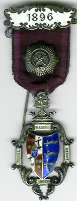 TH281 Royal Masonic Benevolent Institution 1896 Stewards jewel.-0