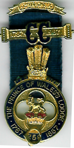 TH551Bi The bi-centenary Jewel from The Prince of Wales Lodge No. 259.-0