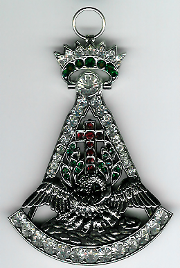 Early Style Rose Croix 18th Degree jewel-0