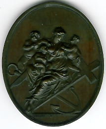 TH116 The 1792 Prince Mason Lodge medal.-0