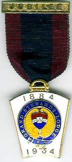 TH755GS The Mark Grand Steward's Lodge 50th Anniversary jewel.-0