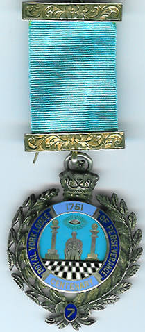 TH502-007 Royal York Lodge of Perseverance No. 7 Pre-Regulation Centenary jewel-0