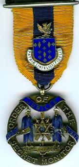 Order of the Secret Monitor rare 50th Anniversary jewel 1887-1937-0