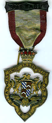 TH276 Royal Masonic Institution for Boys 1891 Stewards jewel.-0