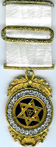 TH604 (b) A truly beautiful extra large mid-Victorian Royal Arch Chapter jewel with brilliants-0