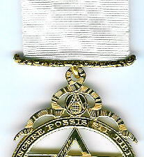 TH601 (f) An Official silver-gilt extra large Thomas Harper reproduction Royal Arch member's jewel.-0