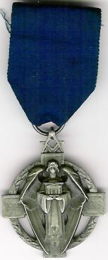 TH231-3702 The Masonic Million Memorial Fund jewel. Lodge No. 3702-0