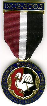 TH258 The Provincial Grand Lodge of Buckinghamshire Benevolent Fund centenary jewel-0