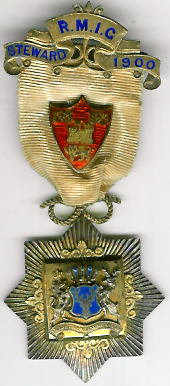 TH271 Royal Masonic Institution for Girls 1900 Stewards jewel-0