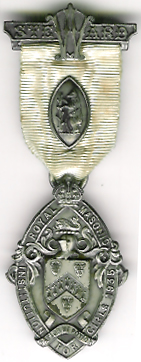TH271 Royal Masonic Institution for Girls 1935 Stewards jewel.-0