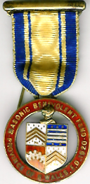 TH335 The Province of South Wales 1920 Masonic Benevolent Fund jewel.-0