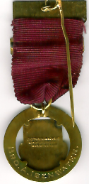 TH342ab The 1925 West Lancashire Charity Jewel matt back.-0