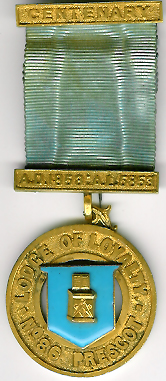 TH529-086 Lodge of Loyalty No. 86 Pre-Regulation Centenery jewel-0
