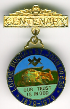 TH561-0636 The Centenary Jewel for Lodge Buchan St. John No. 636-0