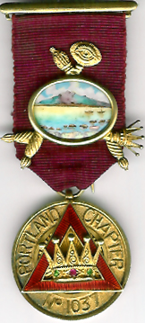 TH659-1037 1st PZ's jewel for Portland Chapter No. 1037-0