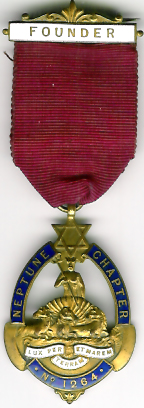 TH662-1264 Founders jewel for Neptune Chapter No. 1264-0