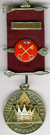 TH659-7808 PZ's jewel for Crossed Keys Chapter No. 7808-0