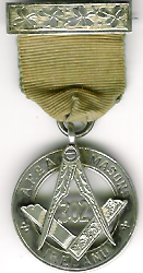 Ireland Dublin Lodge No 302 WWI 1914-1918 war jewel rare.-0