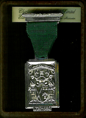 TH251cbox The 250th Anniversary of the Grand Lodge of Scotland 1736-1986 with original box.-0