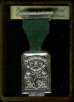 TH251cbox The 250th Anniversary of the Grand Lodge of Scotland 1736-1986 with original box.-0