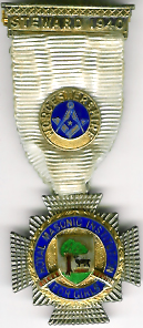 TH271 Royal Masonic Institution for Girls 1940 Stewards jewel.-0