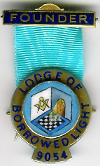 TH455-9054 Founders jewel for Lodge of Borrowed Light No. 9054.-0