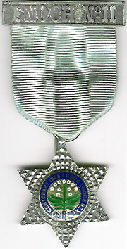 TH505-011 Enoch Lodge No. 11 Pre-Regulation Centenary jewel-0