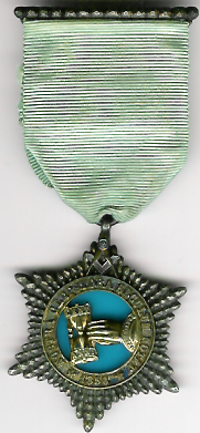 TH531-096 Burlington Lodge No. 96 Pre-Regulation Centenary jewel-0