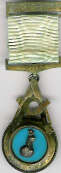 TH544-137 Lodge of Amity No. 137 Pre-Regulation Centenary jewel-0