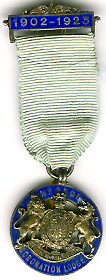 TH270-2898 Rare 21st Anniversary jewel of Coronation Lodge No 2898.-0