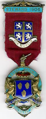 TH281 Royal Masonic Benevolent Institution 1906 Stewards jewel.-0