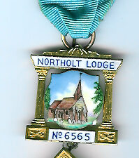 TH455-6565 Past Masters jewel for Northolt Lodge No. 6565-0