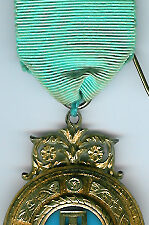 TH453-0120 A very special 1916 Past Masters jewel in Hallmarked silver from Palladian Lodge No. 120-0
