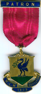 TH304 1909 West Lancashire Masonic Educational Institution Steward's jewel-0