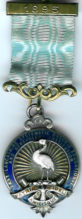 The original 1895 East Lancashire Systematic Masonic Educational and Benevolent Institution jewel. -0