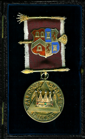 TH659 Caledonia Chapter No. 154SC gold PZ's jewel.-0