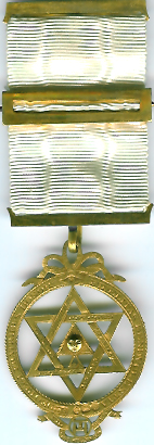 TH601ab The 1817 gold Thomas Harper Royal Arch member's jewel.-0