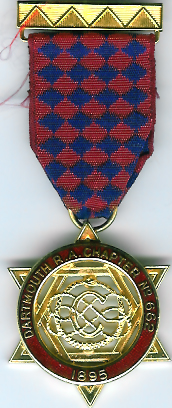 TH625-0662 The Centenary jewel for Dartmouth Royal Arch Chapter No. 662.-0