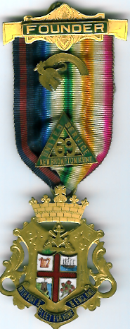 TH785-0069 Founders Jewel for United Service Lodge No.69.-0