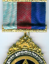 TH604 (b) A wonderful and impressive extra large mid-Victorian Royal Arch Chapter jewel with 34 brilliants.-0