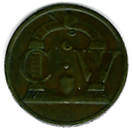 TH192 the rare CW Arch Token. -0