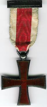 Knights of Malta Hallmarked silver breast jewel.-0
