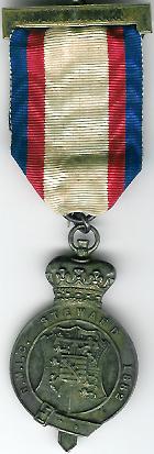 TH271 Royal Masonic Institution for Girls 1882 Stewards jewel-0