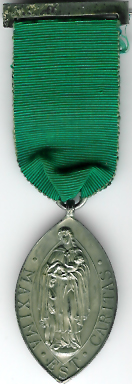 TH349 The Lincolnshire Masonic Charity Committee silver member's jewel.-0
