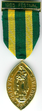 TH356.The Lincolnshire Masonic Charity 1985 Festival Committee jewel. -0